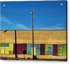 Urban Rainbow Acrylic Print
