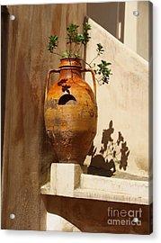 Urna D'italia Acrylic Print by Joyce Hutchinson