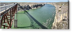 Us 90 Bridge Over Pecos River Acrylic Print by Gregory Scott