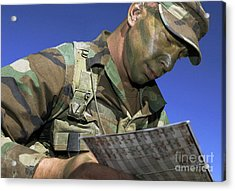 U.s. Air Force Lieutenant Reviews Acrylic Print by Stocktrek Images