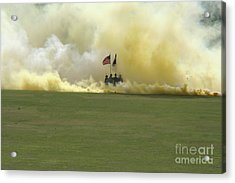 Acrylic Print featuring the photograph Us Army Graduation by Michael Waters