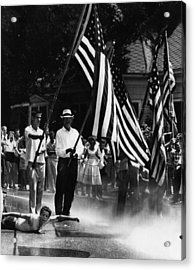 Us Civil Rights. Demonstrators Acrylic Print by Everett