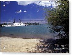 U.s. Coast Guard Cutter Jarvis Transits Acrylic Print