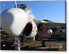 Us Fighter Jet Plane . 7d11232 Acrylic Print by Wingsdomain Art and Photography
