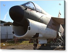 Us Fighter Jet Plane . 7d11240 Acrylic Print by Wingsdomain Art and Photography