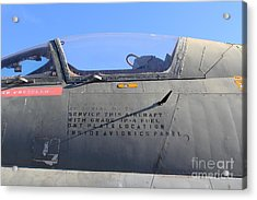 Us Fighter Jet Plane . 7d11295 Acrylic Print by Wingsdomain Art and Photography