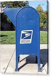 Us Mail Box . 5d18813 Acrylic Print by Wingsdomain Art and Photography