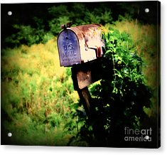 U.s. Mail Acrylic Print by Perry Webster
