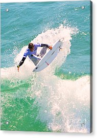 Us Open Of Surfing 2012    9 Acrylic Print by Jason Waugh