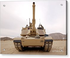 U.s. Soldiers Perform Maintenance Acrylic Print by Stocktrek Images