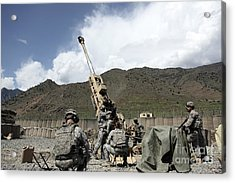 U.s. Soldiers Prepare For Their Next Acrylic Print by Stocktrek Images