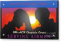 Usaf - Chaplain Corps Acrylic Print by Unknown