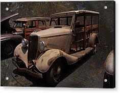 Used Car Lot Acrylic Print