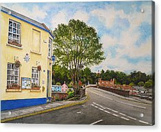 Usk Police Station  Acrylic Print by Andrew Read