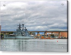 Acrylic Print featuring the photograph Uss Little Rock by Michael Frank Jr