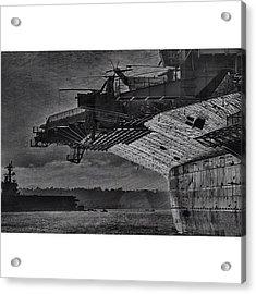 Uss Midway Acrylic Print