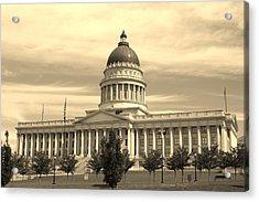 Utah State Capital Acrylic Print