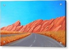 Utah Westbound Acrylic Print
