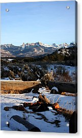 Ute Indian Fire Ring Acrylic Print by Marta Alfred