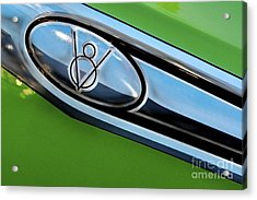 Acrylic Print featuring the photograph V8 by Sherry Davis