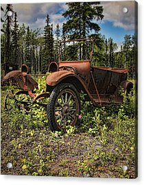 Valdez To Fairbanks Taxi Acrylic Print