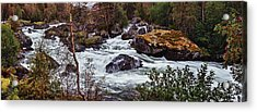 Valdolla River Acrylic Print by A A