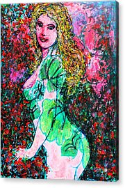 Valentina 2 Acrylic Print by Natalie Holland