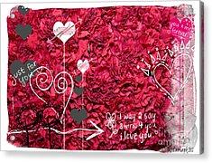 Valentine Ver.1 Acrylic Print