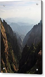 Valley In Huangshan Acrylic Print