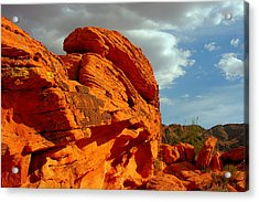 Valley Of Fire - Born To Be Wild Acrylic Print by Christine Till