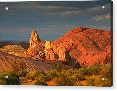 Valley Of Fire - Picturesque Desert Acrylic Print