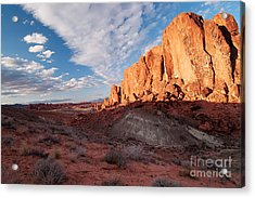 Acrylic Print featuring the photograph Valley Of Fire by Art Whitton
