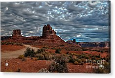 Valley Of The Gods II Acrylic Print by Robert Bales