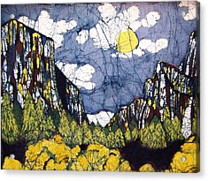 Valley View Acrylic Print by Alexandra  Sanders