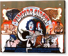 Vampire Circus, Anthony Corlan Center Acrylic Print by Everett