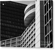 Vancouver Architecture Acrylic Print by Chris Dutton