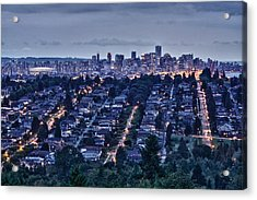 Acrylic Print featuring the photograph Vancouver Bc Canada by Scott Holmes