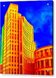 Vancouver Library 4 Acrylic Print by Randall Weidner