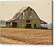 Acrylic Print featuring the photograph Vanishing American Icon by Debbie Portwood