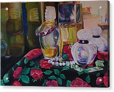 Vanities Acrylic Print by Loueen Morrison