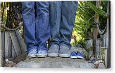 Vans Acrylic Print by Baywest Imaging