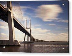 Vasco Da Gama Bridge V Acrylic Print