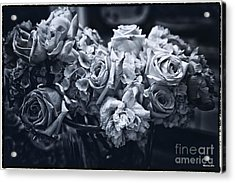 Vase Of Flowers 2 Acrylic Print by Madeline Ellis