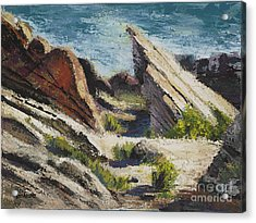 Vasquez Pass Acrylic Print by Rich Arons
