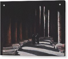 Vatican Contemplation Acrylic Print