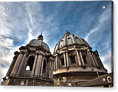 Vatican Dome Acrylic Print