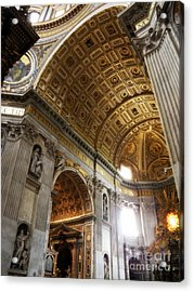 Vatican Light Acrylic Print