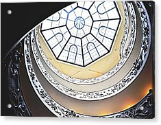 Vatican Staircase Acrylic Print by Heather Marshall