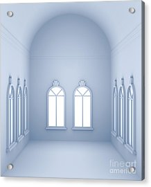 Vaulted Room  Acrylic Print