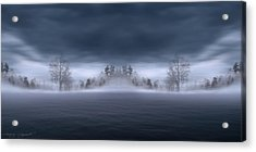 Veil Of Mist Acrylic Print by Lourry Legarde